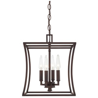 Capital Lighting 510141BB Westbrook 4 Light 12 inch Burnished Bronze Foyer Ceiling Light