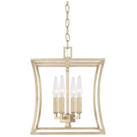 Westbrook 4 Light 12 inch Winter Gold Foyer Ceiling Light