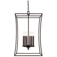 Capital Lighting 510161BB Westbrook 6 Light 16 inch Burnished Bronze Foyer Ceiling Light