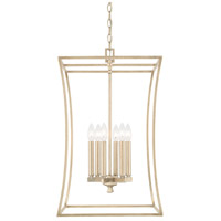 Westbrook 6 Light 16 inch Winter Gold Foyer Ceiling Light