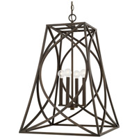 Capital Lighting 510242OB Elijah 4 Light 20 inch Old Bronze Foyer Ceiling Light
