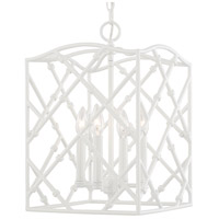 Signature 4 Light 12 inch Glossy White Foyer Ceiling Light