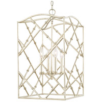 Signature 4 Light 15 inch Winter Gold Foyer Light Ceiling Light