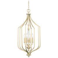 Seaton 4 Light 15 inch Soft Gold Foyer Ceiling Light