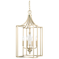 Capital Lighting Seaton 4 Light Foyer in Soft Gold 510842SF