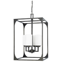 Capital Lighting Flynn 4 Light Foyer in Gunmetal 511041GM-316