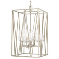 Capital Lighting Arden 4 Light Foyer in Brushed Silver 511241BS-317