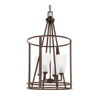 Avalon 4 Light 16 inch Russet Foyer Ceiling Light