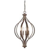 Rowan 4 Light 16 inch Rustic Foyer Ceiling Light