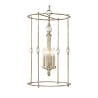 Capital Lighting Carlyle 4 Light Foyer in Gilded Silver 511741GS