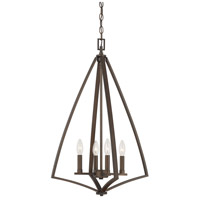 Capital Lighting Burnished Bronze Foyer Pendants