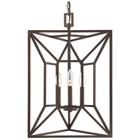 Signature 3 Light 17 inch Burnished Bronze Foyer Ceiling Light