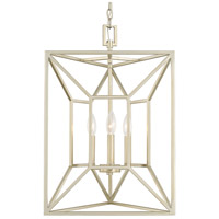 Signature 3 Light 17 inch Soft Gold Foyer Ceiling Light