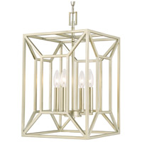Signature 4 Light 12 inch Soft Gold Foyer Ceiling Light