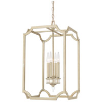 Capital Lighting Olivia 4 Light Foyer in Winter Gold 515042WG