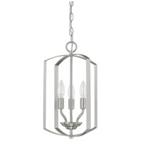 HomePlace 3 Light 10 inch Brushed Nickel Foyer Light Ceiling Light