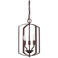 HomePlace 3 Light 10 inch Bronze Foyer Light Ceiling Light