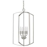 HomePlace 4 Light 15 inch Brushed Nickel Foyer Light Ceiling Light
