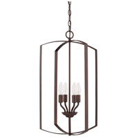 HomePlace 4 Light 15 inch Bronze Foyer Light Ceiling Light