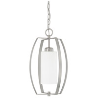 HomePlace 1 Light 10 inch Brushed Nickel Foyer Light Ceiling Light