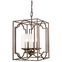Avanti 4 Light 15 inch Rustic Foyer Ceiling Light