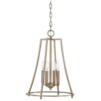Dawson 4 Light 14 inch Aged Brass Foyer Light Ceiling Light