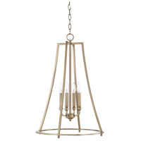 Dawson 4 Light 18 inch Aged Brass Foyer Light Ceiling Light
