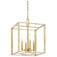 Regan 4 Light 12 inch Capital Gold Foyer Light Ceiling Light