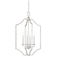 Oxford 4 Light 16 inch Silver Patina Foyer Light Ceiling Light