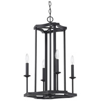 Capital Lighting 519841BI Ravenwood 4 Light 16 inch Black Iron Foyer Light Ceiling Light