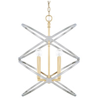 Capital Lighting 520841FI Fire and Ice 4 Light 18 inch Fire and Ice Foyer Light Ceiling Light