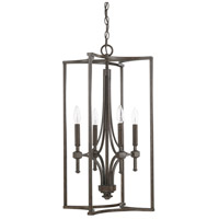Porter 4 Light 16 inch Renaissance Brown Foyer Light Ceiling Light
