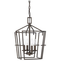 HomePlace 4 Light 11 inch Bronze Foyer Light Ceiling Light