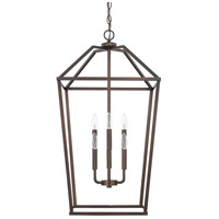 HomePlace 6 Light 17 inch Bronze Foyer Light Ceiling Light