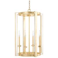 Capital Lighting 523042CG Abella 4 Light 19 inch Capital Gold Foyer Light Ceiling Light