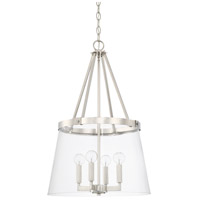 Capital Lighting 525641PN-442 Signature 4 Light 17 inch Polished Nickel Foyer Ceiling Light photo thumbnail
