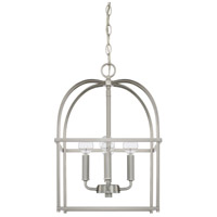 Homeplace 4 Light 13 inch Brushed Nickel Foyer Ceiling Light