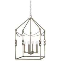 Capital Lighting 527941AN Wallace 4 Light 17 inch Antique Nickel Foyer Ceiling Light