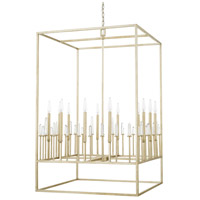 Adira 12 Light 29 inch Winter Gold Foyer Ceiling Light
