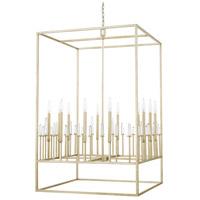 Capital Lighting 528201WG Adira 12 Light 29 inch Winter Gold Foyer Ceiling Light