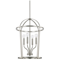 Homeplace 4 Light 16 inch Brushed Nickel Foyer Ceiling Light
