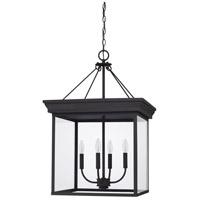 Capital Lighting 528641BK Elijah 4 Light 20 inch Black Foyer Ceiling Light