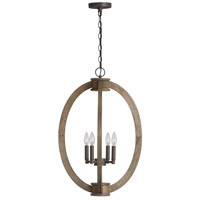 Capital Lighting 529142NG Signature 4 Light 19 inch Nordic Grey Foyer Ceiling Light