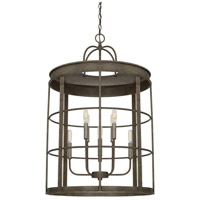 Capital Lighting 529781UG Elijah 8 Light 23 inch Urban Grey Foyer Ceiling Light