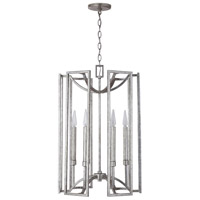 Capital Lighting 532461AS Bryce 6 Light 18 inch Antique Silver Foyer Ceiling Light