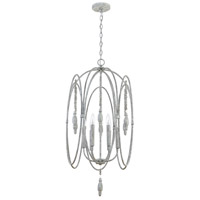 Capital Lighting 532861MS Signature 6 Light 18 inch Mystic Sand Foyer Ceiling Light