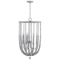 Capital Lighting 533561MS Signature 6 Light 18 inch Mystic Sand Foyer Ceiling Light