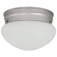 Capital Lighting Signature 2 Light Flush Mount in Matte Nickel 5358MN
