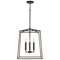 Capital Lighting 537642OR Thea 4 Light 16 inch Oil Rubbed Bronze Foyer Ceiling Light