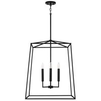 Capital Lighting 537643MB Thea 4 Light 22 inch Matte Black Foyer Ceiling Light